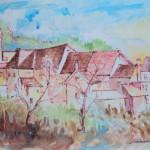 Tambre vecchio - acquerello (2)