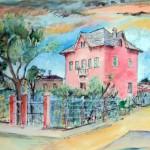 Villa Scattolin - acquerello